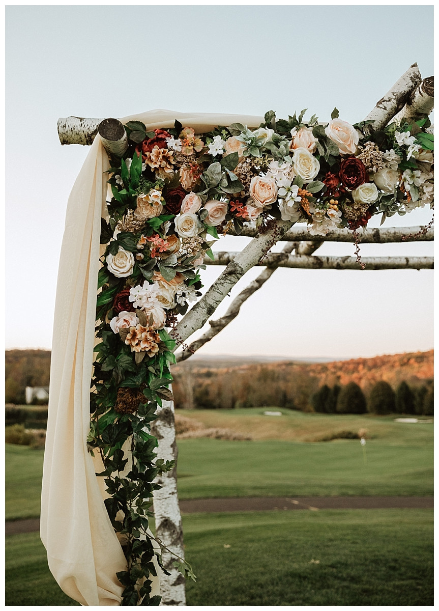 Outdoor Ceremony Decor and Florals