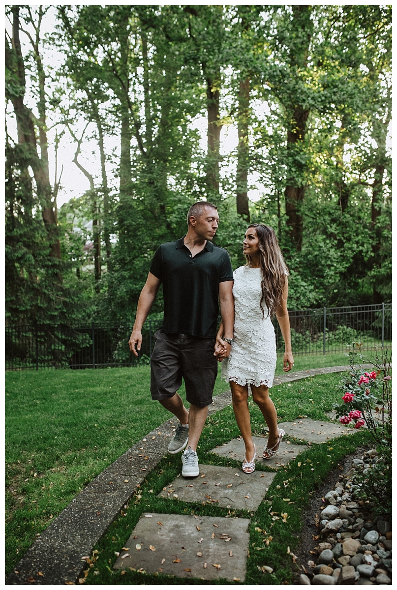 Couples Portraits at Backyard Wedding in Colts Neck, NJ, Sara Fitz Co