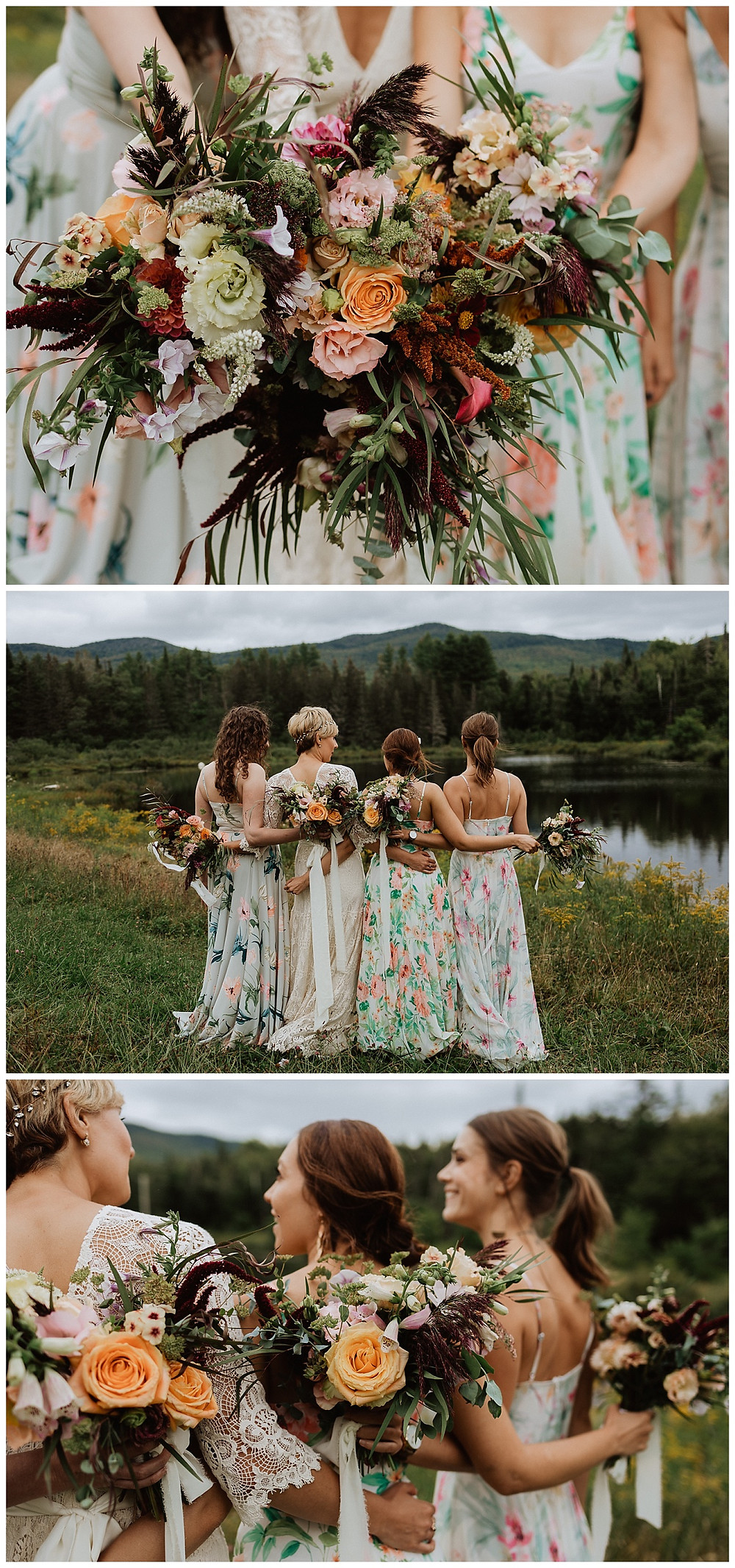 Bridal Party Portraits and Bouquets