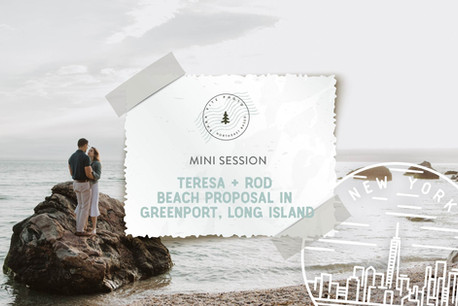 Sunset Beach Proposal in Greenport, Long Island NY