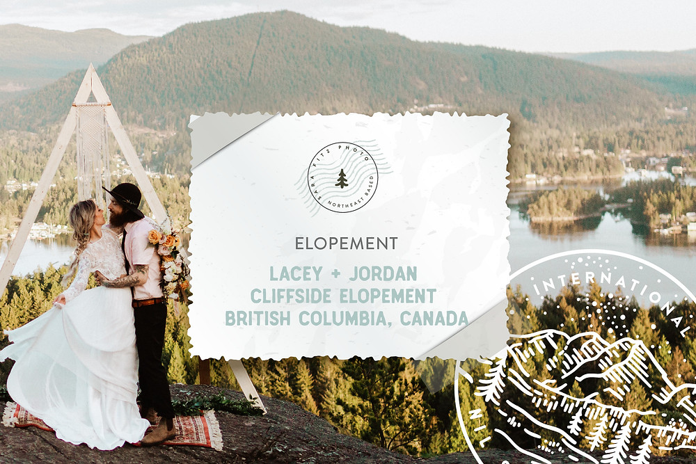 Boho Canadian Mountain Elopement in British Columbia