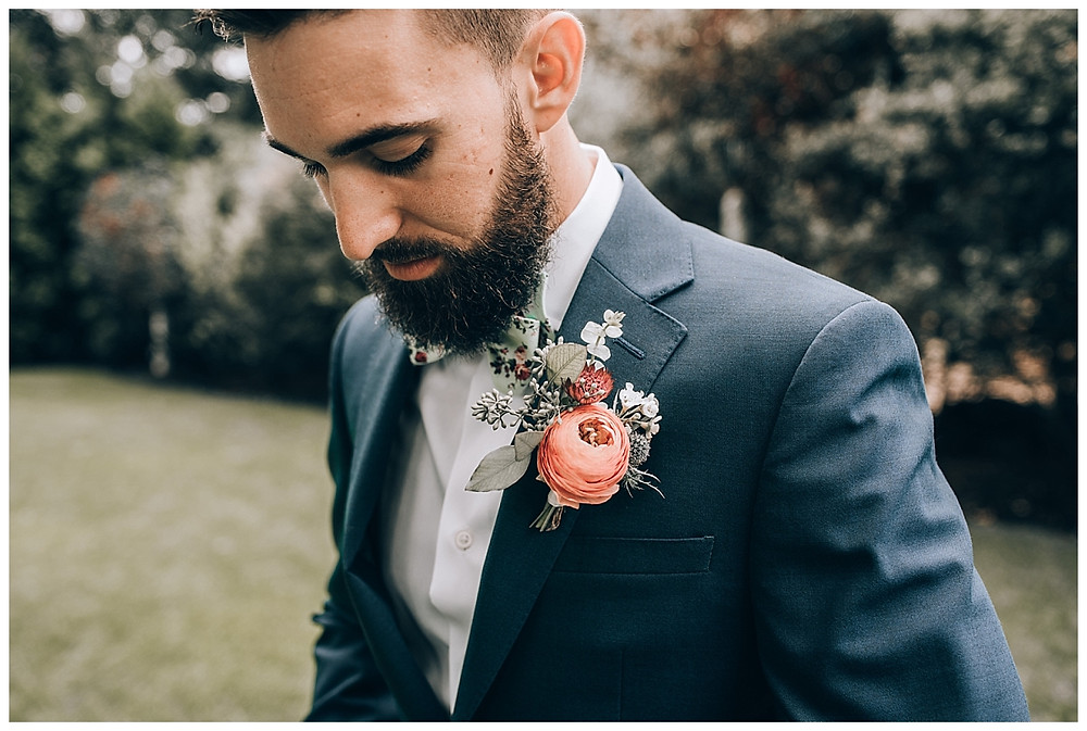 Groom Style Boutonniere
