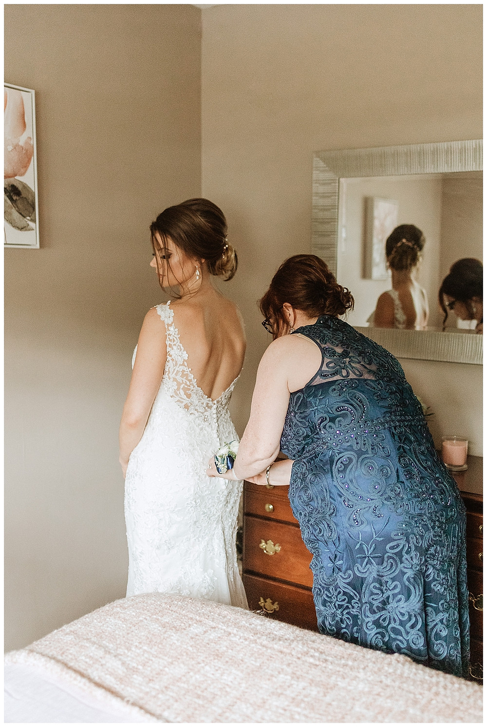 Bride Getting Ready Portraits