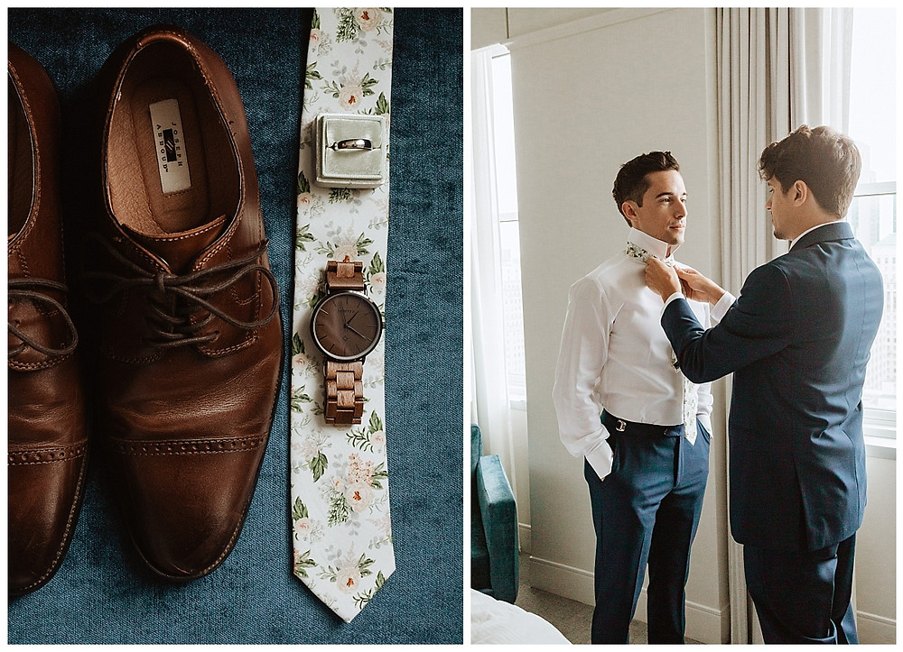 Groom Details and Getting Ready