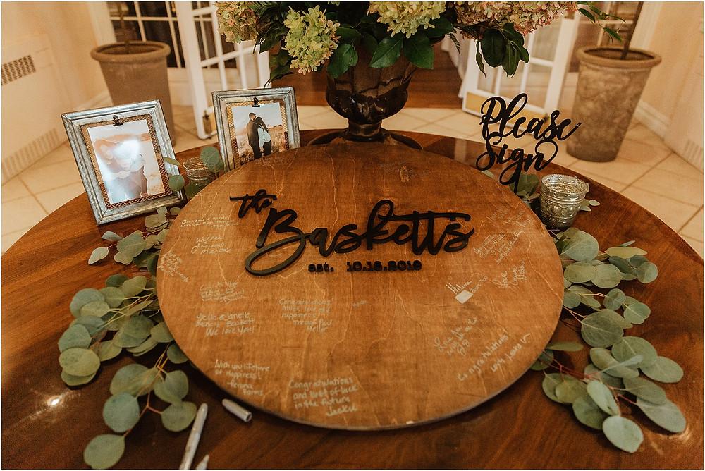 Reception Details at Perona Farms Wedding