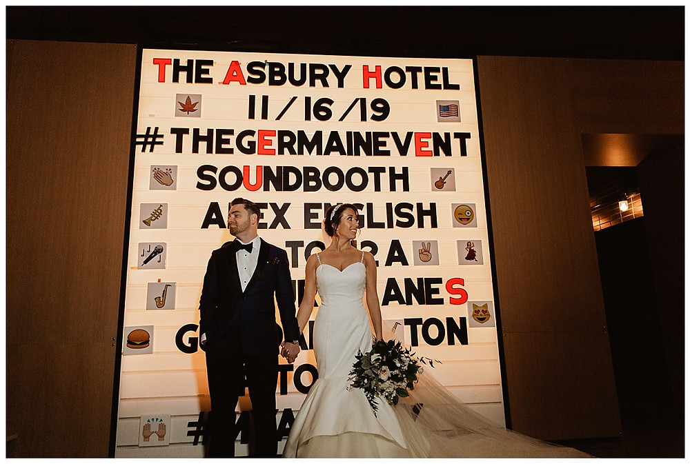Bride & Groom Portraits at The Asbury Hotel