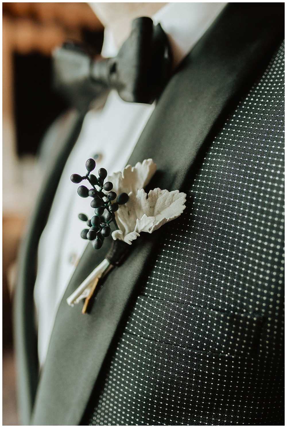 Unique Beach Inspired Groom Boutonniere