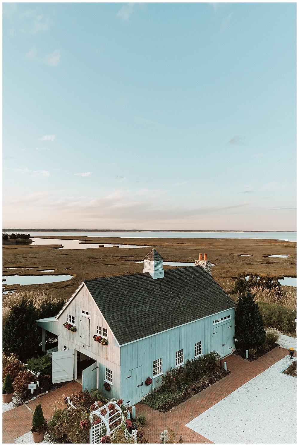Blue Barn Chapel at Bonnet Island Estate