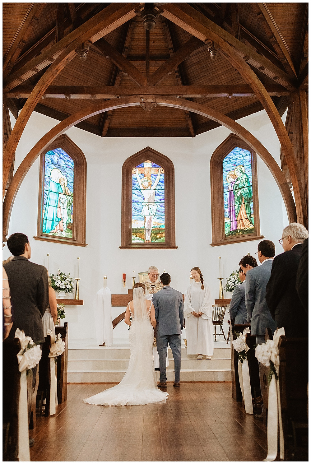 Indoor Church Wedding Ceremony Vows