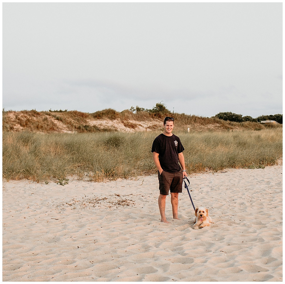 Beach Engagement Session Cape May NJ