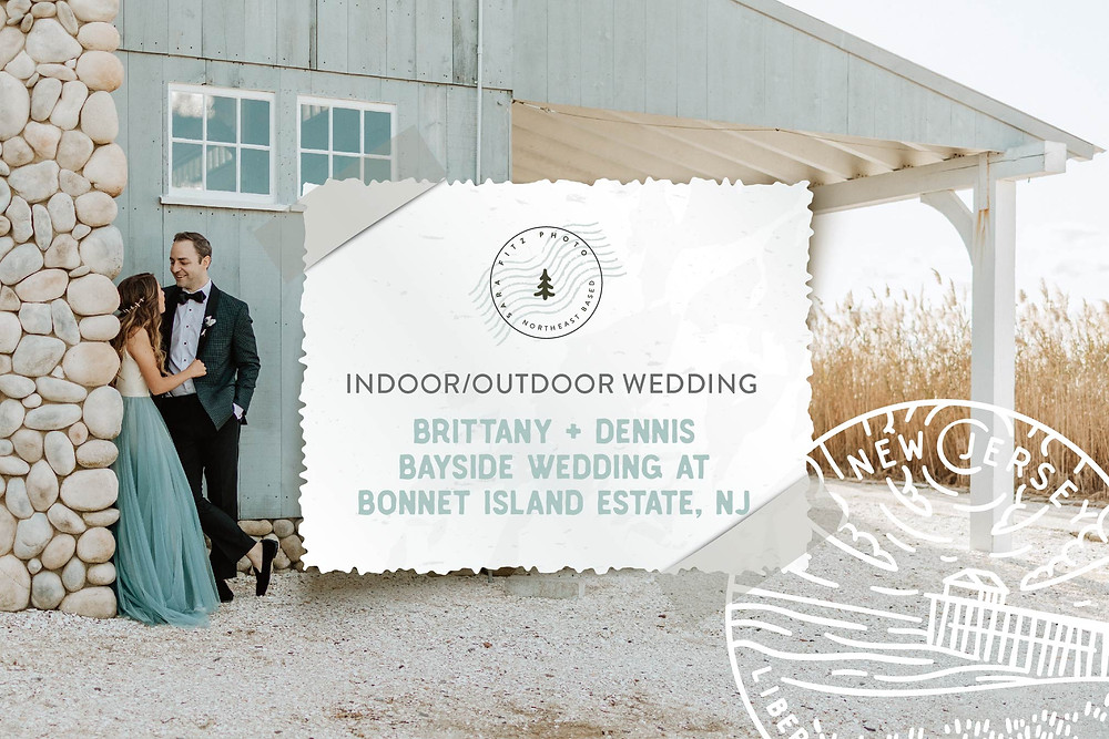 Bonnet Island Estate Wedding NJ