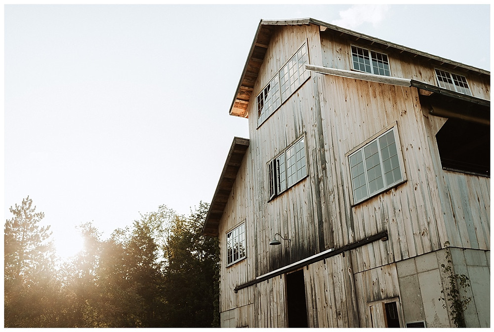 Satoyama Farm Wedding Barn in Rochester, VT