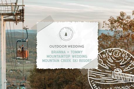 Autumn Mountain Chic Wedding at Mountain Creek Ski Lodge in Mount Vernon, NJ