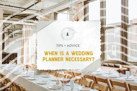 When Is A Wedding Planner Necessary?