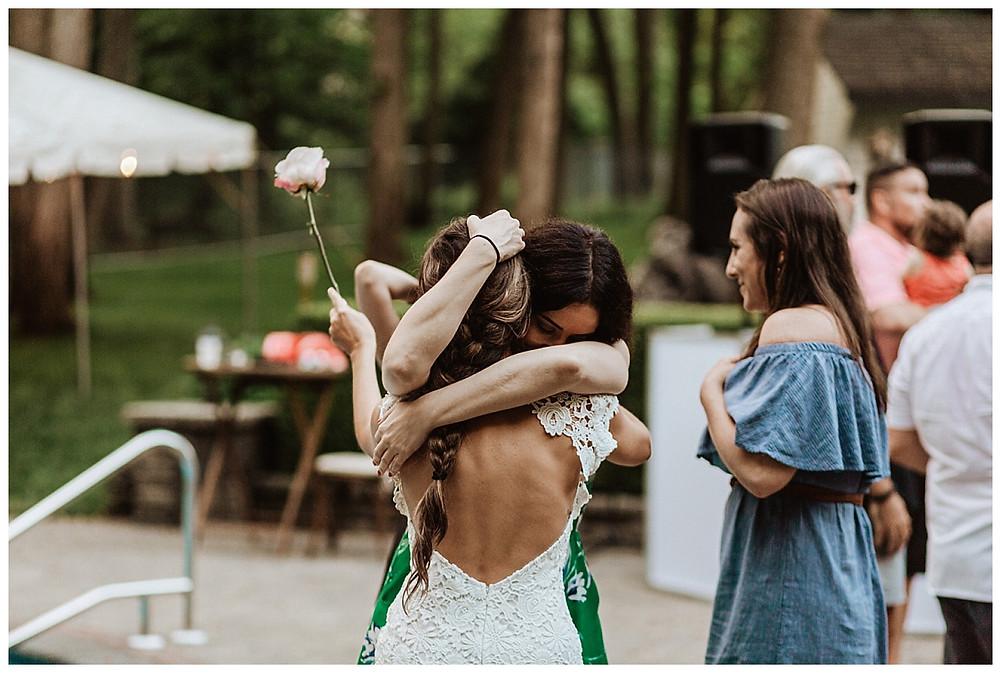 Backyard Micro Wedding, Sara Fitz Co