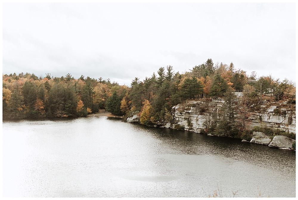 Autumn Mountain Engagement Session