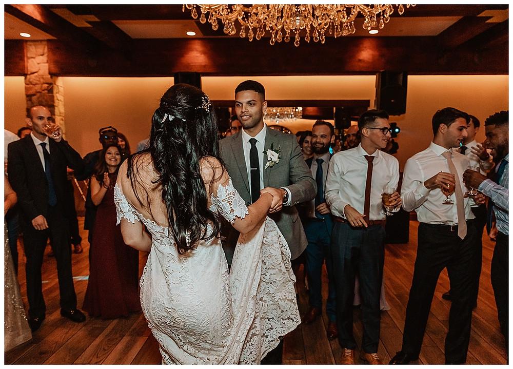 Bride & Groom Reception Dancing
