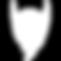 Fitz Co. PhotoBooth - Beard Icon - White