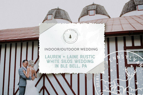 Rustic White Silos Wedding at Normandy Farms in Blue Bell, PA