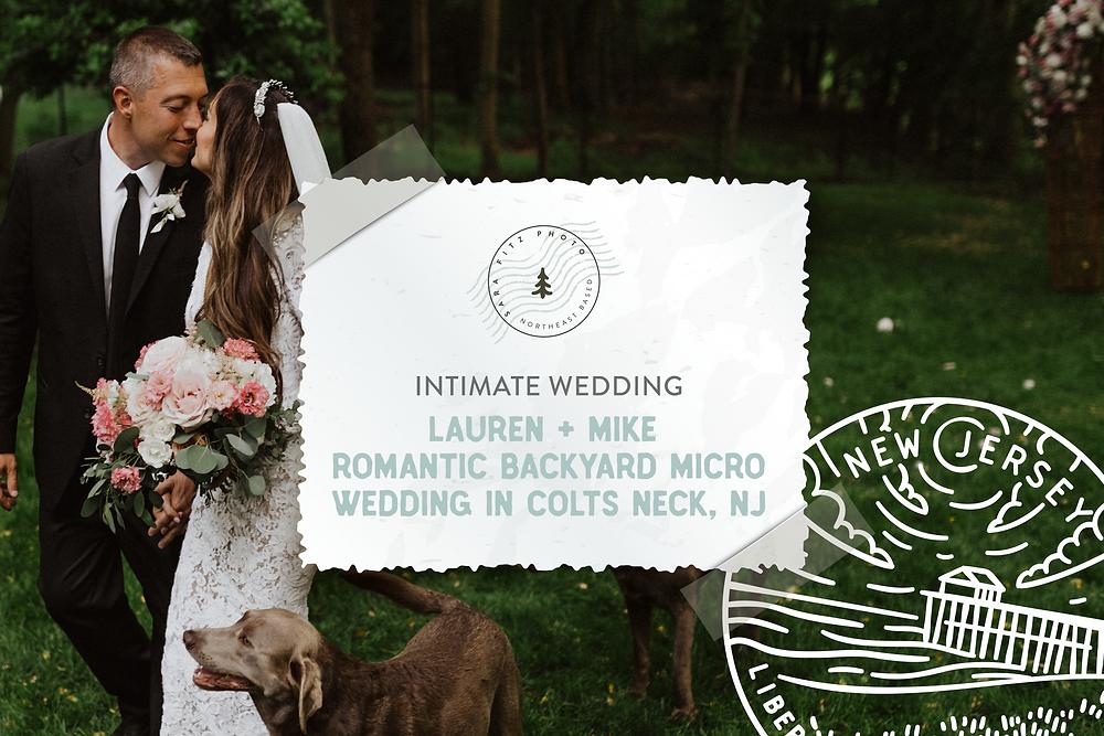Intimate Backyard Micro Wedding, Sara Fitz Co