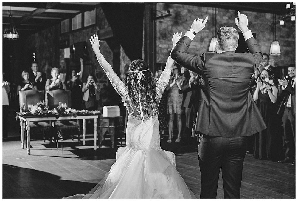 Bride and Groom Reception Intros