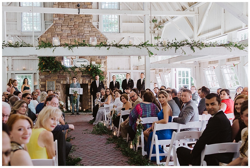 Ashford Estate Barn Chapel Wedding Ceremony