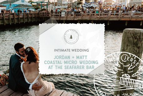 Intimate Coastal Micro Wedding at the Seafarer Bar in Highlands, NJ