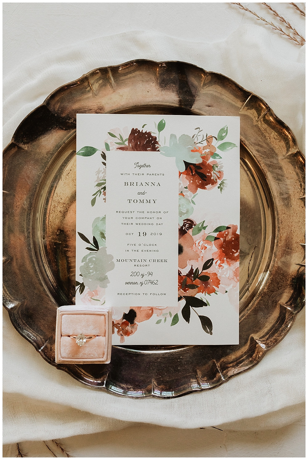 Vintage Wedding Invitations and Details