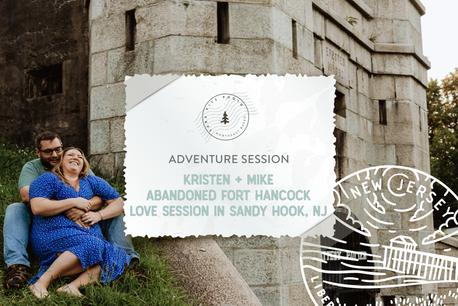 Abandoned Fort Hancock Love Session in Sandy Hook, NJ