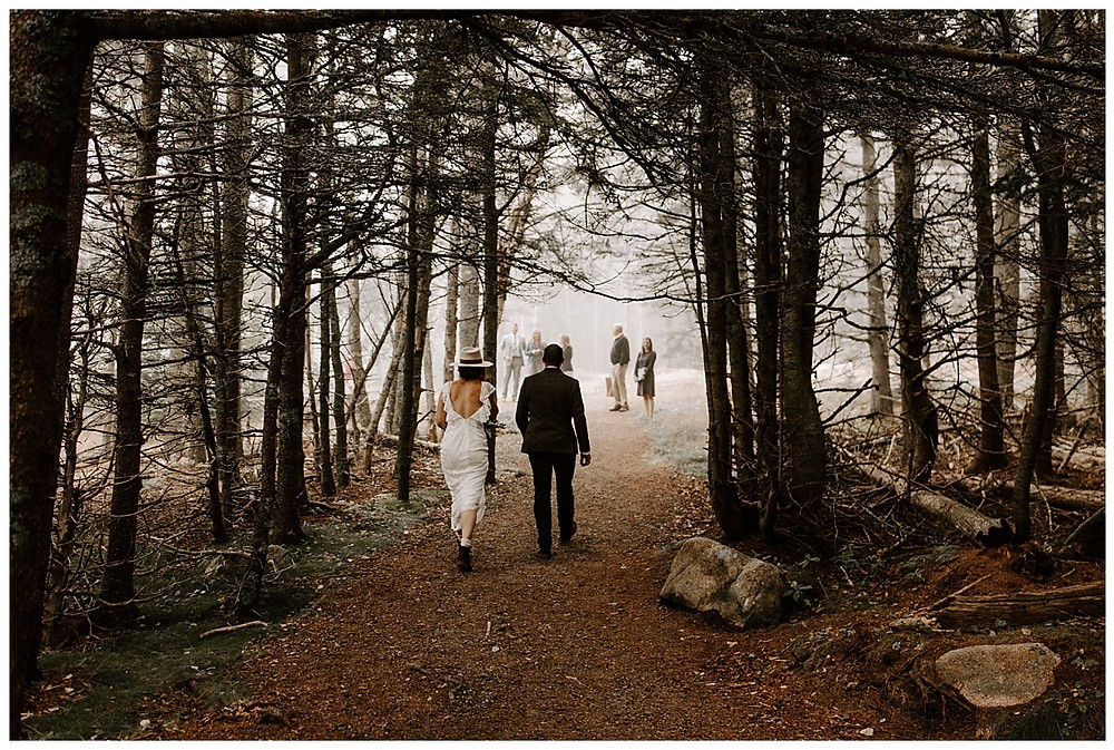 Acadia National Park Adventure Elopement