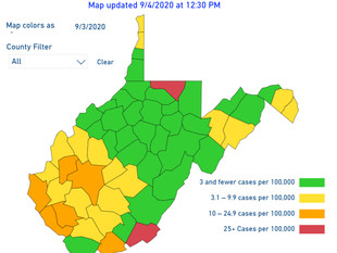 """Delayed Map Release Has 2 Counties in the """"Red"""""""