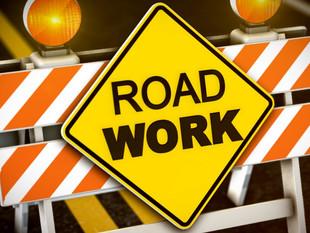 Road work in Logan this week