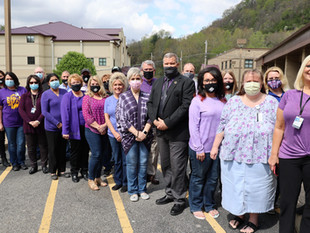 Southern goes purple for Recovery Day
