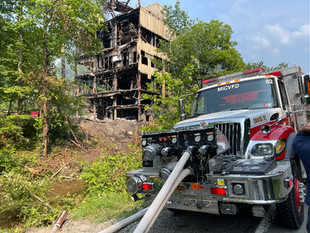 Stirrat Tipple Caught Fire Tues.