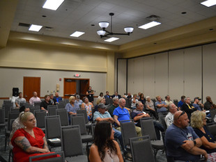 Redistricting Committee Visits Logan For Public Hearing Thurs. Night