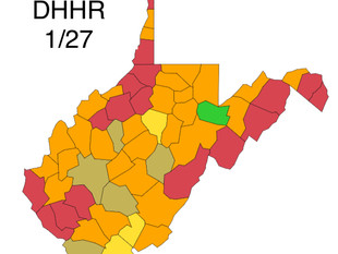 W.Va. Infection Rate 6.03% Wednesday