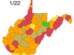Nearly 1,000 New Cases Reported, W.Va. DHHR
