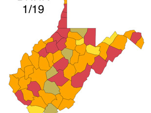 1,000 New Cases of COVID-19 Confirmed Today in W.Va.