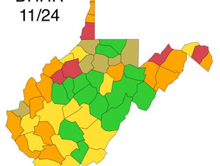 Over 900 Cases of COVID-19 Reported Today in W.Va.