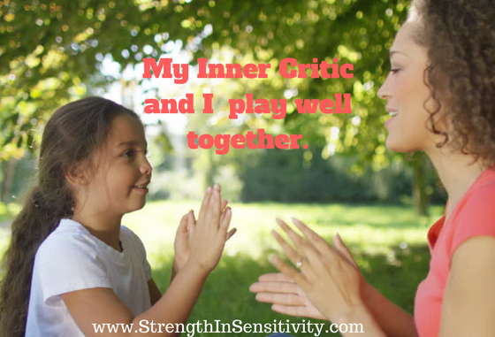 How Well DoYou Play with Your Inner Critic