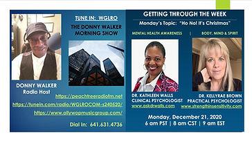 December 21 2020 - Donny Walker - Dr Kat