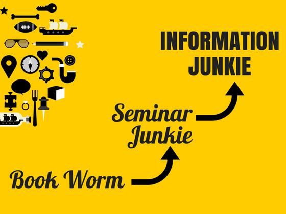 Seminar Junkie? Self-Help Binger?