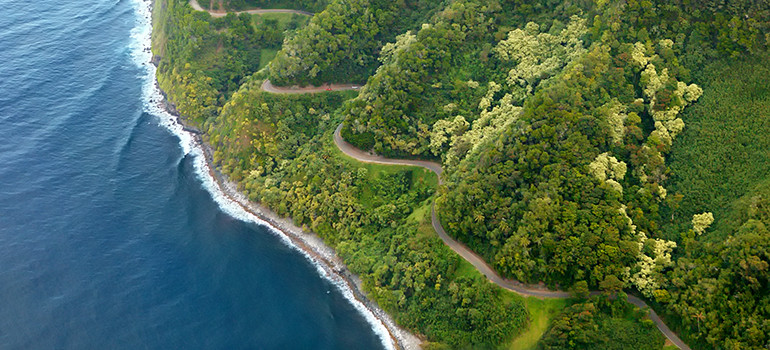 "The infamous ""Road to Hana"" in Maui, HI"