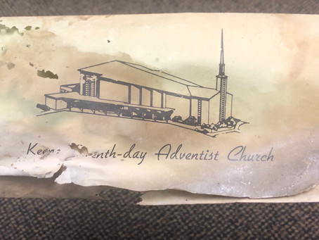 Message from an old Keene Church Bulletin in 1976