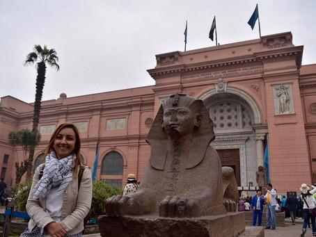 Eski Mısır Medeniyeti İzinde -1- Kahire Mısır Müzesi