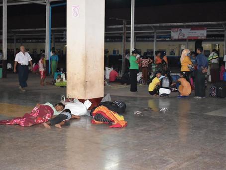 Güneşin Peşinde 3 - Yangon'a gece treni