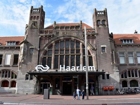 Adını ve Tren İstasyonunu Beğenip Trenden İndiğimiz Kasaba HAARLEM