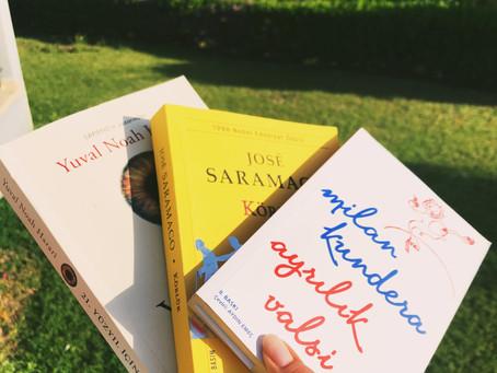 Karantina günlerinde bitirdiğim kitaplar