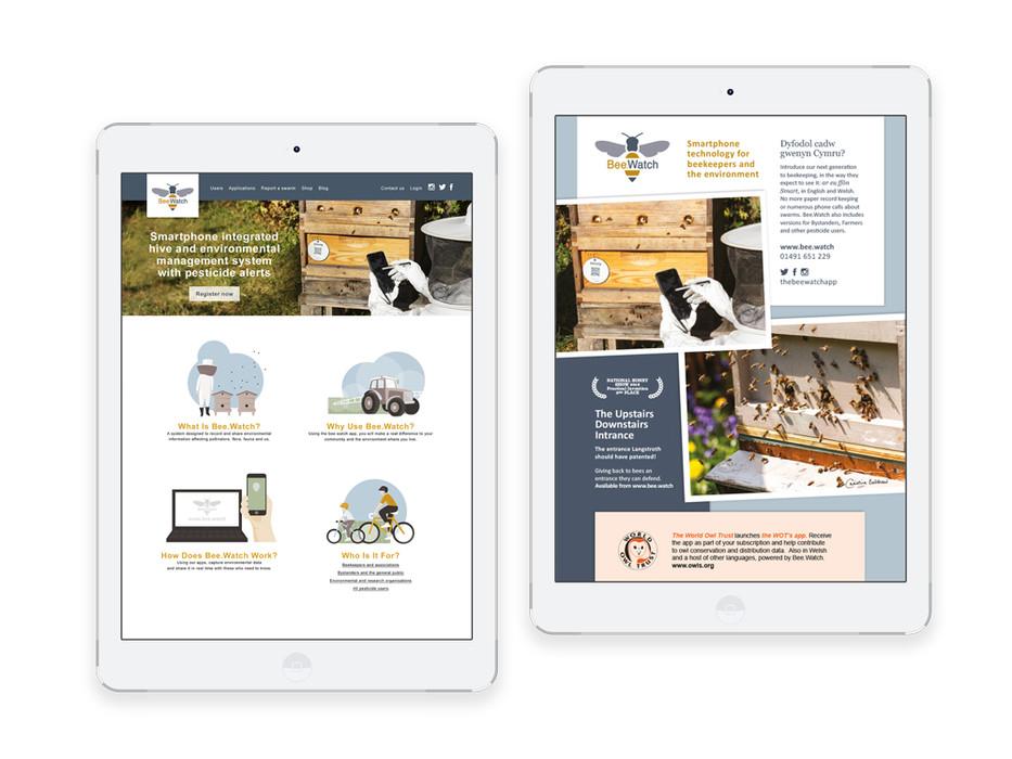 Bee.Watch website