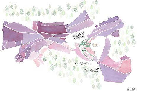 Carte blanc Sous fretille Domaine Pavelo